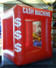 inflatable cash machines